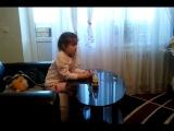 Little girl watching porn