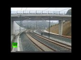 Катастрофа поезда в Испании.Безумный машинист развил на повороте скорость 190 километров в час